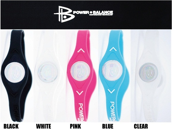 人気急上昇中のパワーバランスは、クリア・ブラック・ホワイト・ブルー・ピンクのカラーがあります。